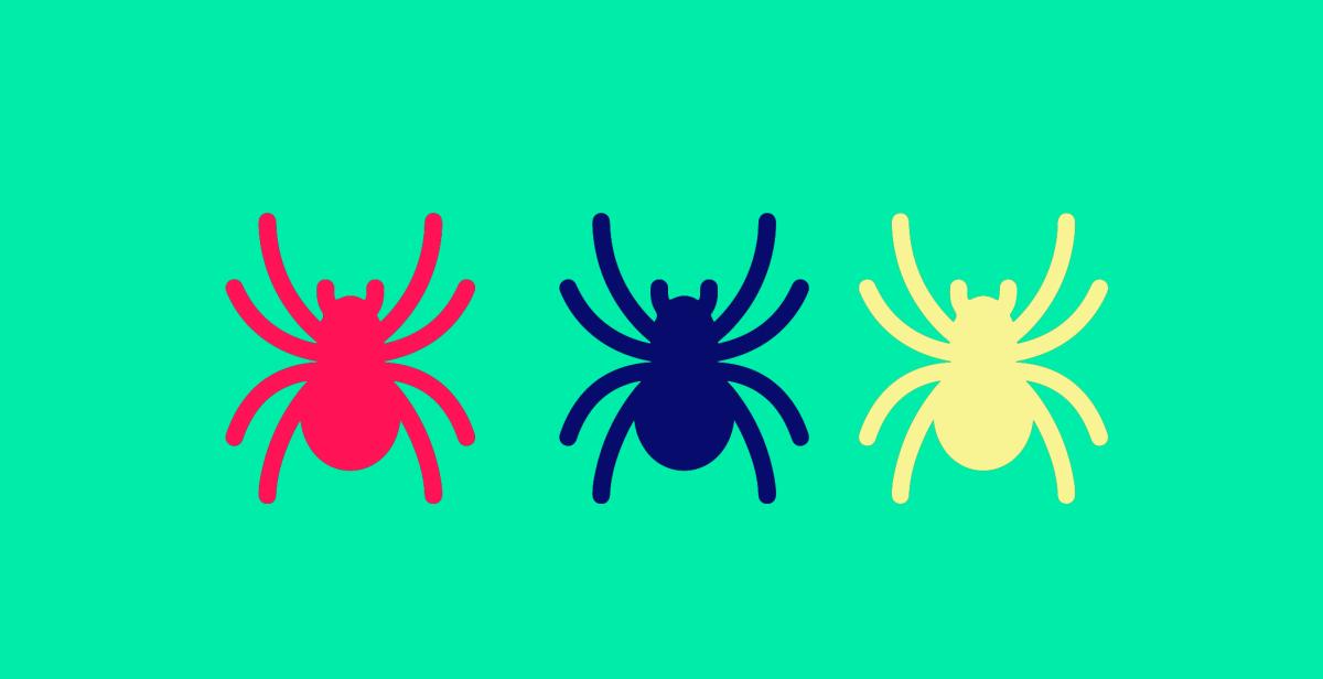 arañas web